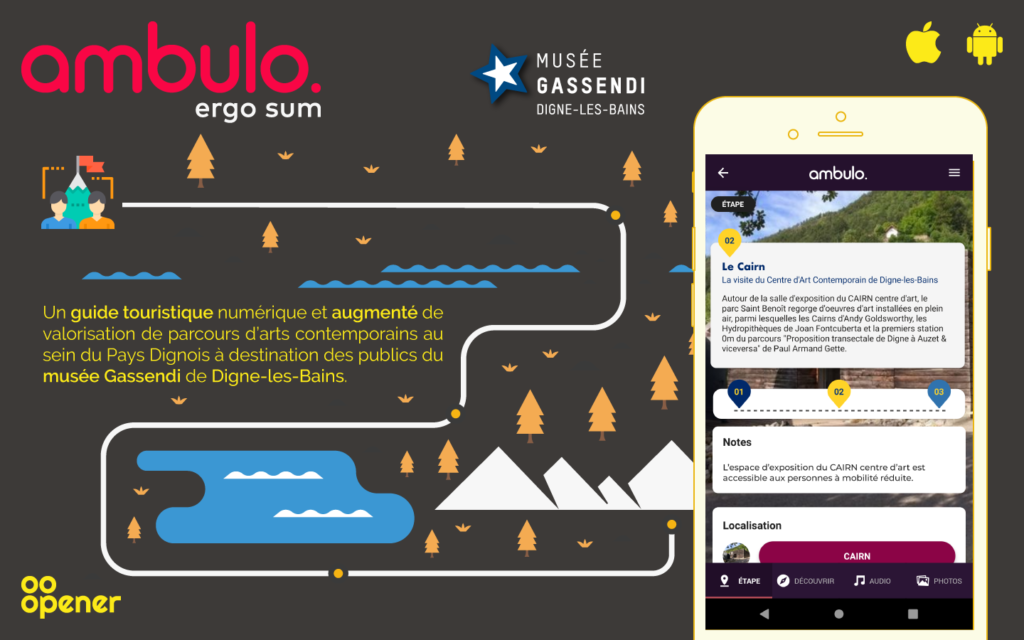 Ambulo - Application mobile et CMS en mode BaaS